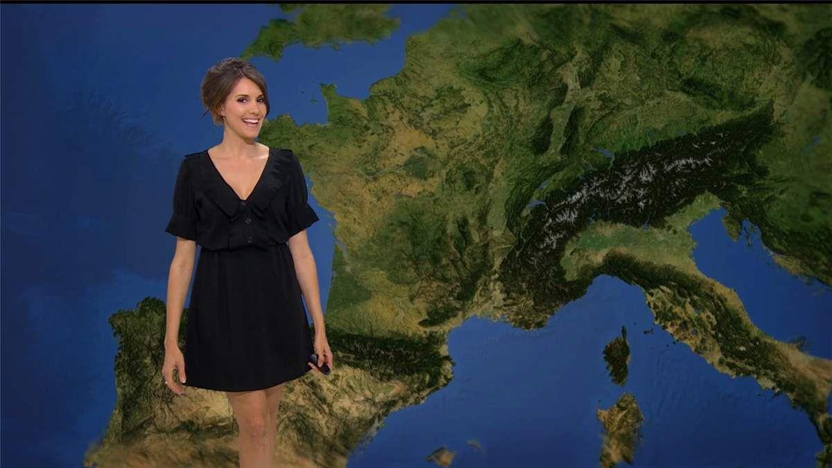 Fanny Agostini Météo BFM TV le 11.05.2017