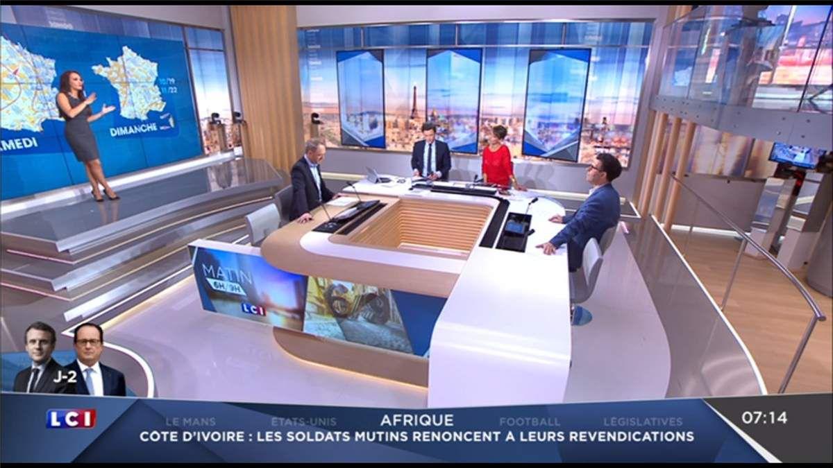 Alexandra Blanc Météo LCI le 12.05.2017
