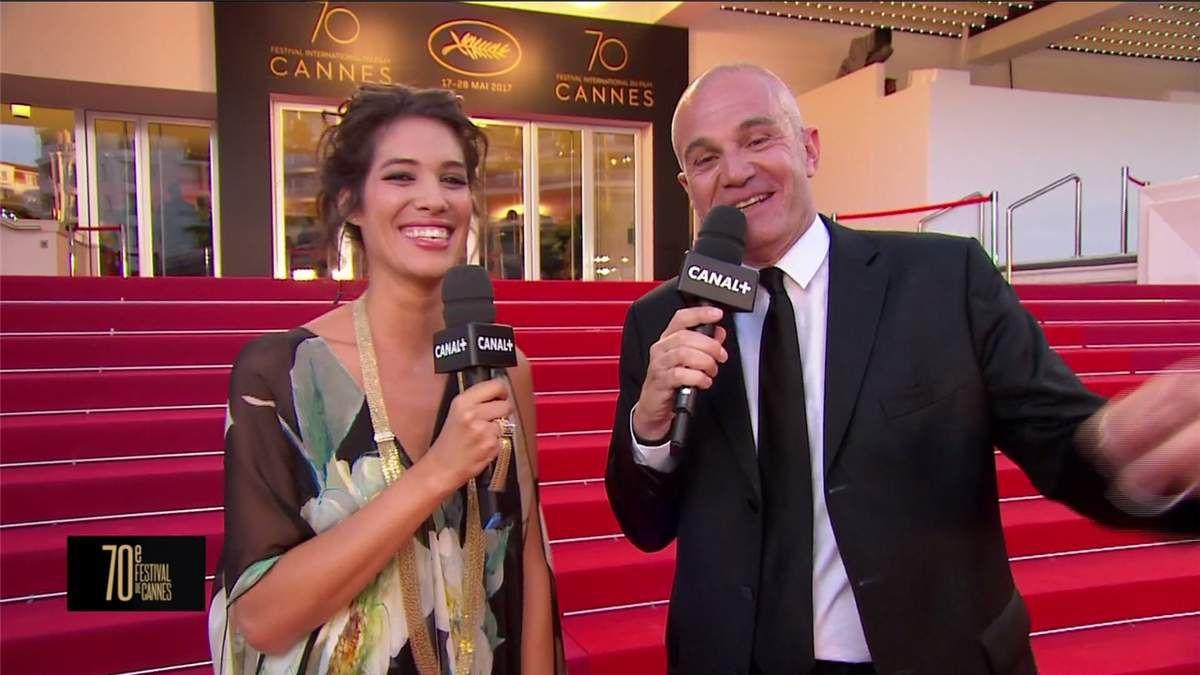 Laurie Cholewa Canal+ De Cannes Canal+ le 17.05.2017