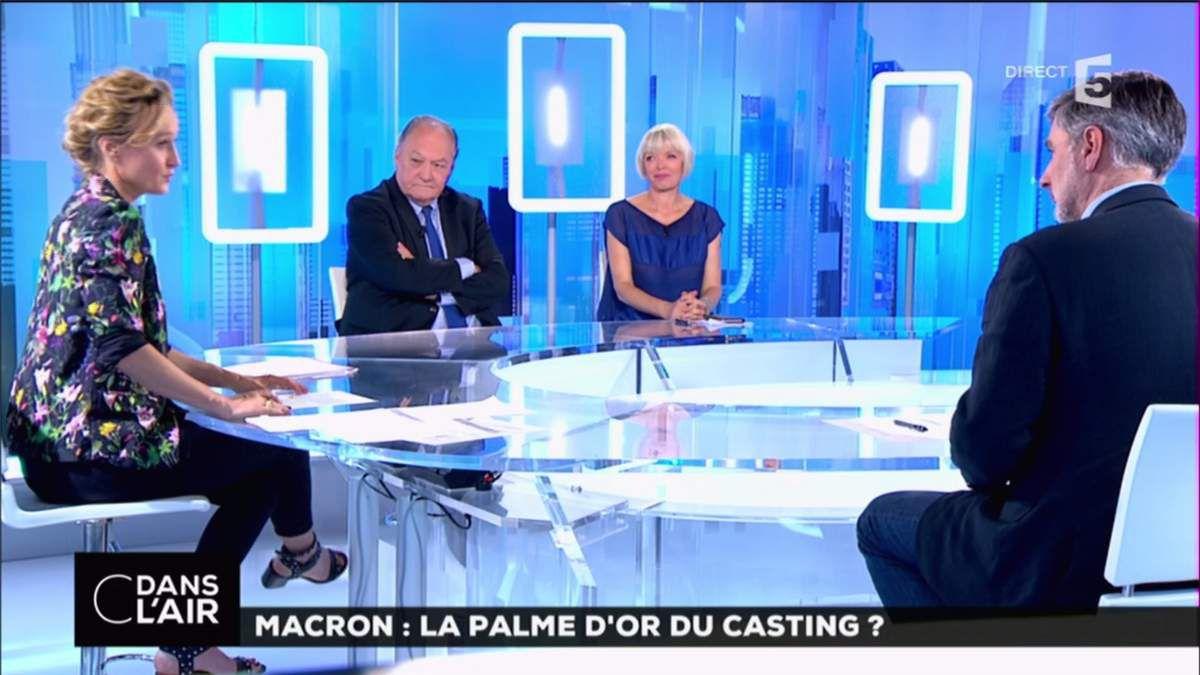 Caroline Roux C Dans l'Air France 5 le 17.05.2017