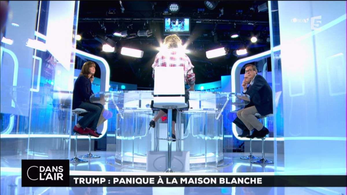Caroline Roux C Dans l'Air France 5 le 18.05.2017