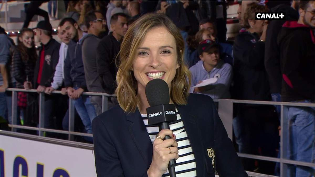 Isabelle Ithurburu Top 14 Canal+ le 19.05.2017