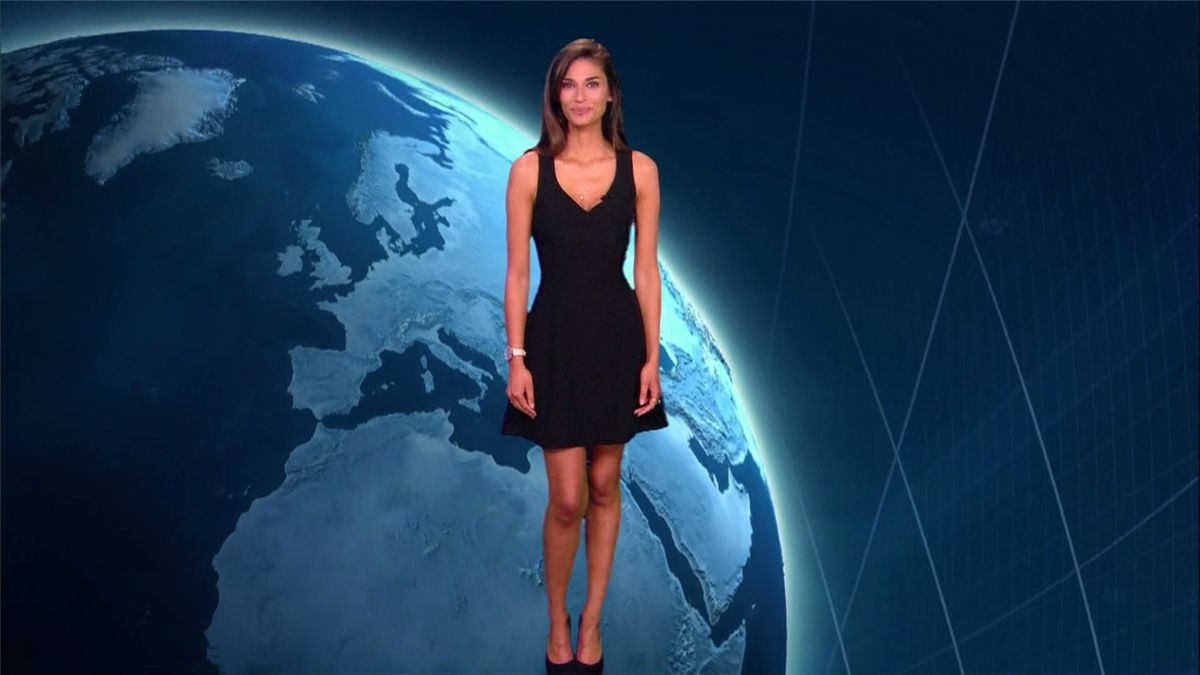 Tatiana Silva Météo TF1 le 20.05.2017