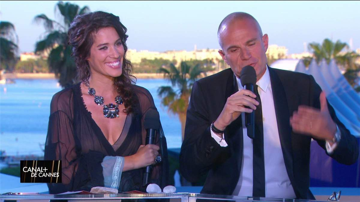 Laurie Cholewa Canal+ de Cannes Canal+ le 20.05.2017
