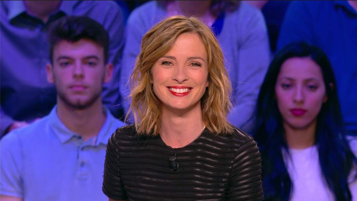 Isabelle Ithurburu Canal Rugby Club Canal+ le 21.05.2017