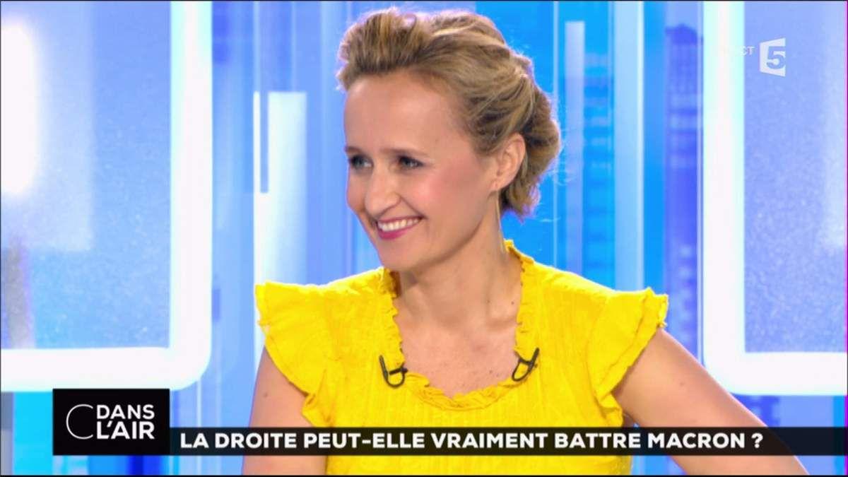 Caroline Roux C Dans l'Air France 5 le 22.05.2017