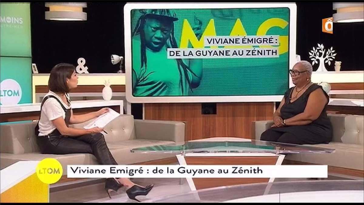 Sonia Chironi Les Témoins d'Outremer France Ô le 24.05.2017