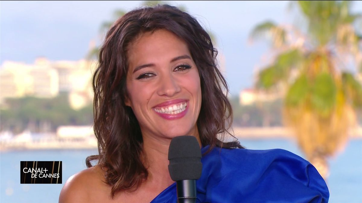 Laurie Cholewa Canal+ de Cannes Canal+ le 24.05.2017