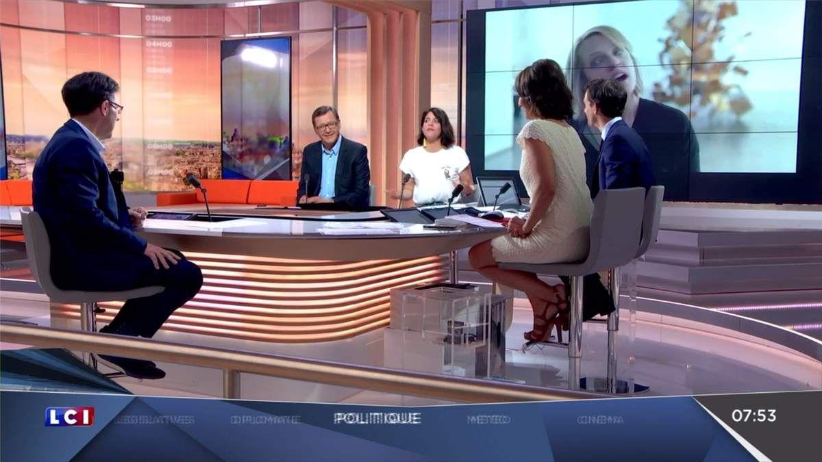 Amandine Bégot LCI Matin LCI le 29.05.2017