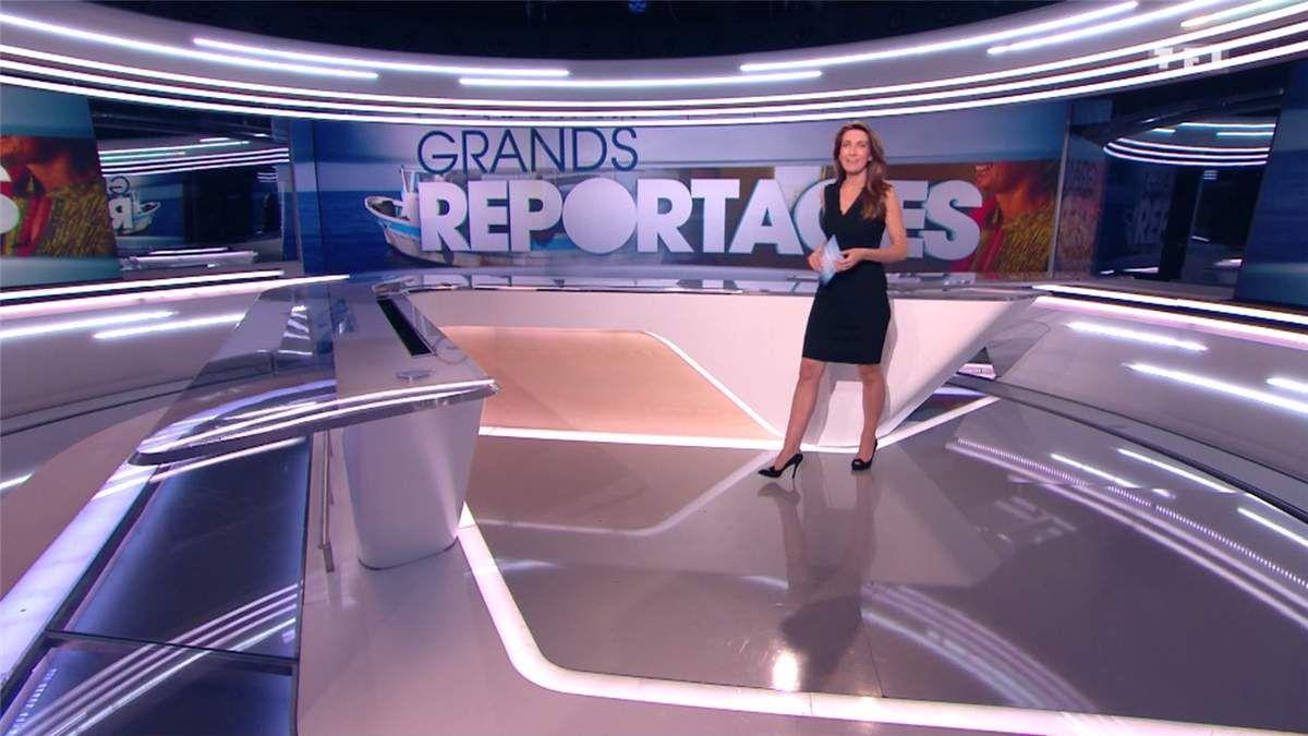 Anne-Claire Coudray JT 13H TF1 le 04.06.2017