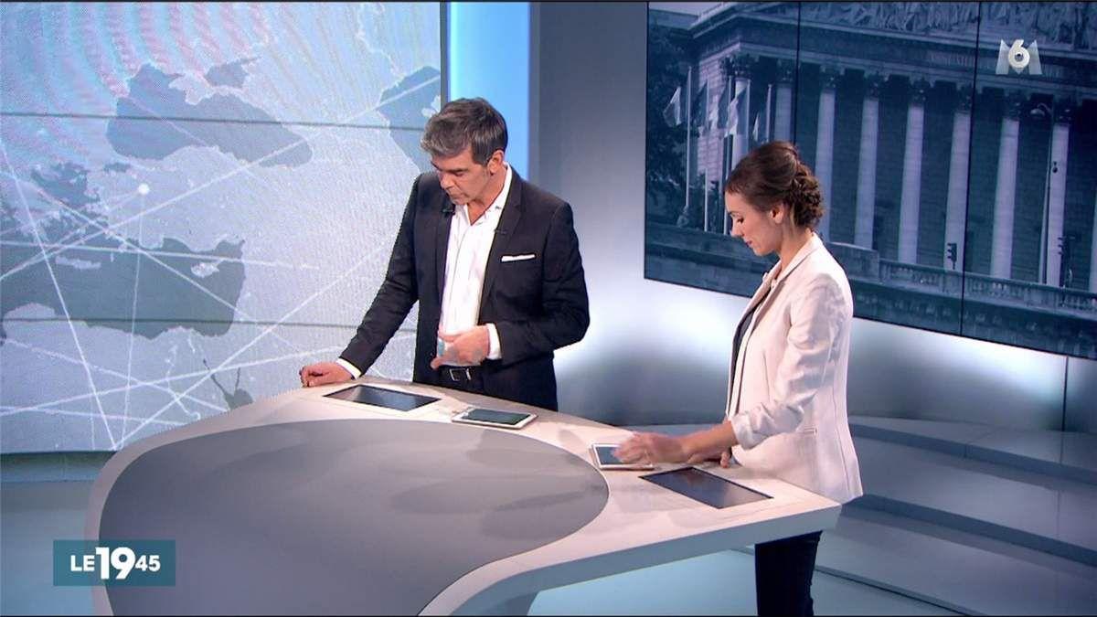 Marie-Ange Casalta Le 19:45 M6 le 08.06.2017