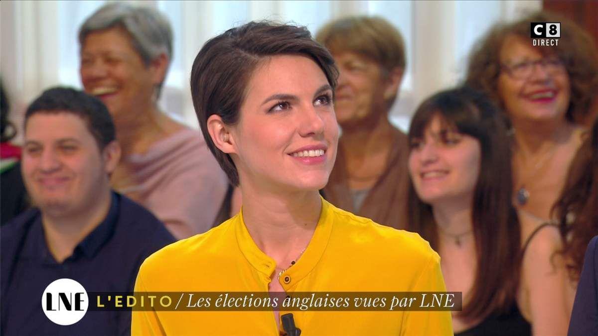 Emilie Besse La Nouvelle Edition C8 le 09.06.2017