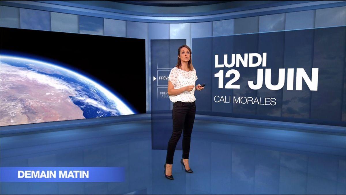 Cali Morales Météo M6 le 12.06.2017