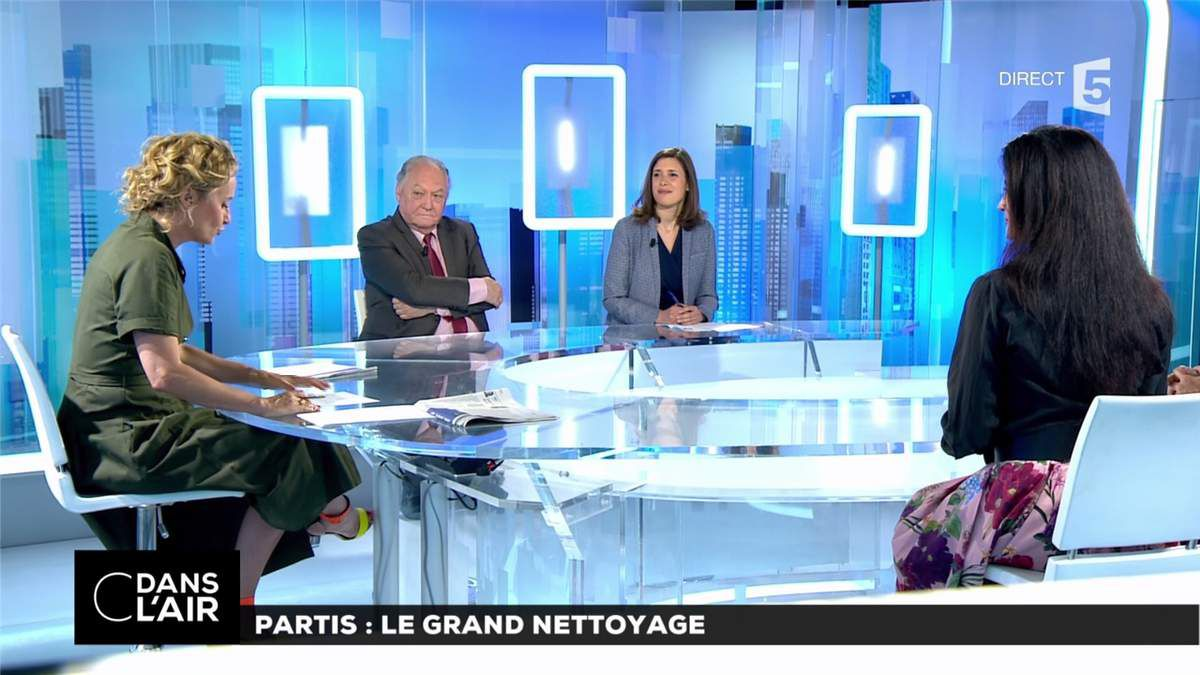 Caroline Roux C Dans l'Air France 5 le 13.06.2017