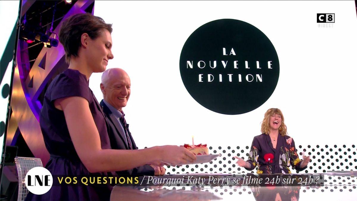 Emilie Besse La Nouvelle Edition C8 le 13.06.2017