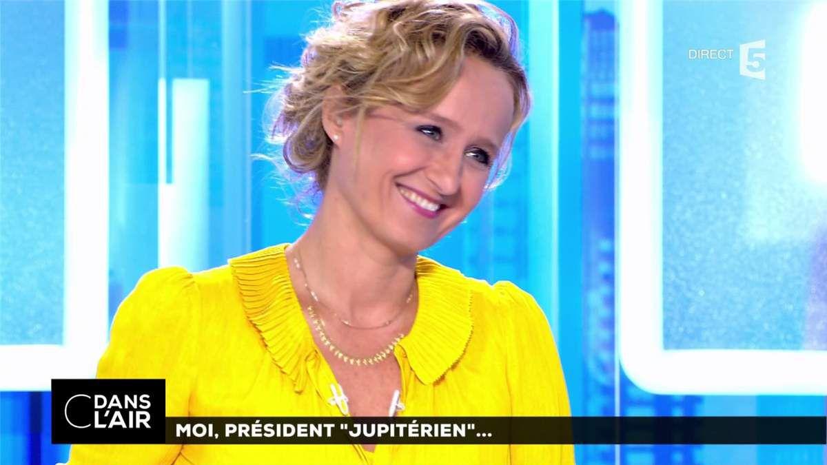 Caroline Roux C Dans l'Air France 5 le 15.06.2017