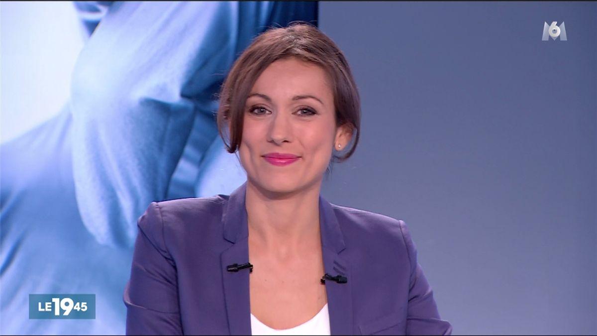 Marie-Ange Casalta Le 19:45 M6 le 16.06.2017