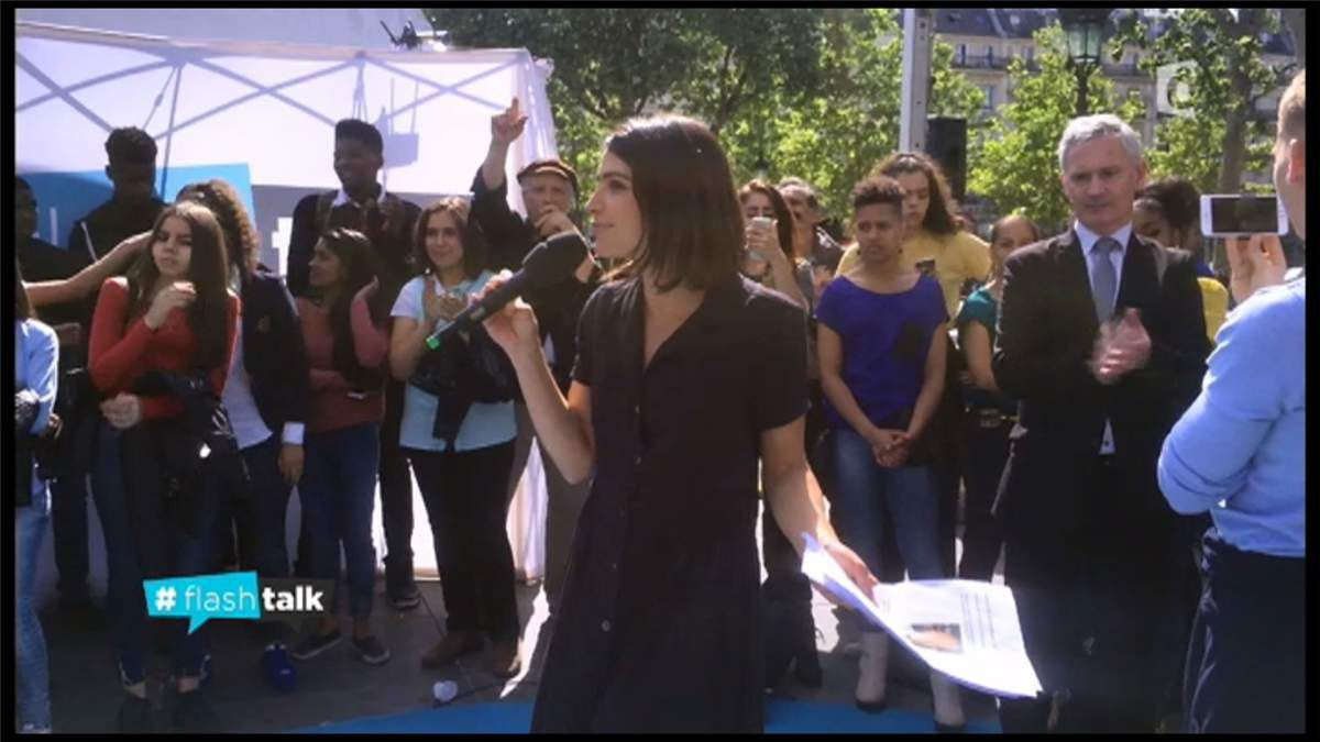 Sonia Chironi Flash Talk France Ô le 17.06.2017