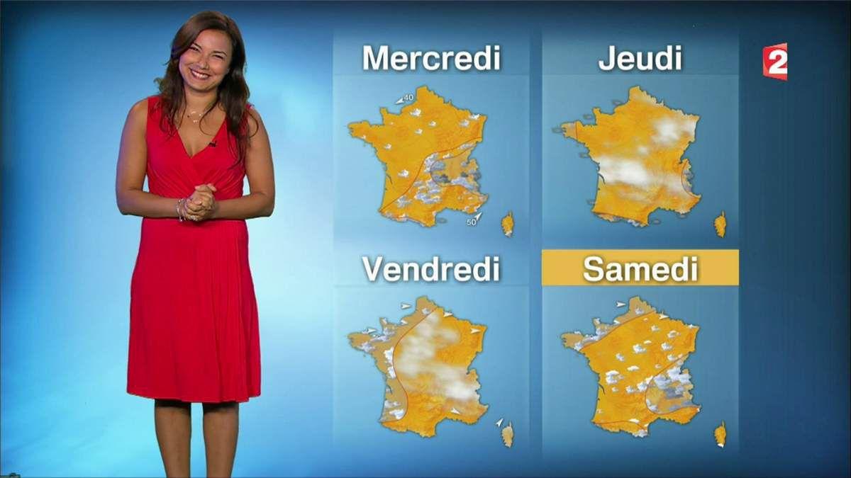 Anaïs Baydemir Météo France 2 le 19.06.2017