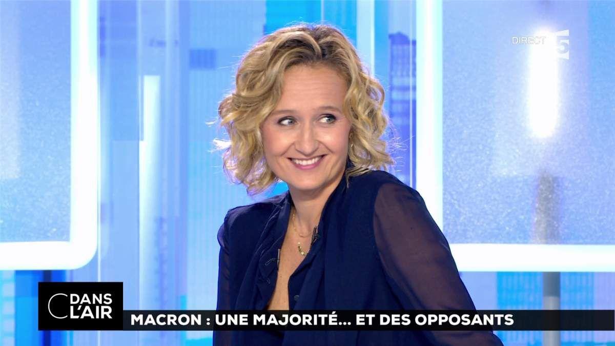 Caroline Roux C Dans l'Air France 5 le 19.06.2017