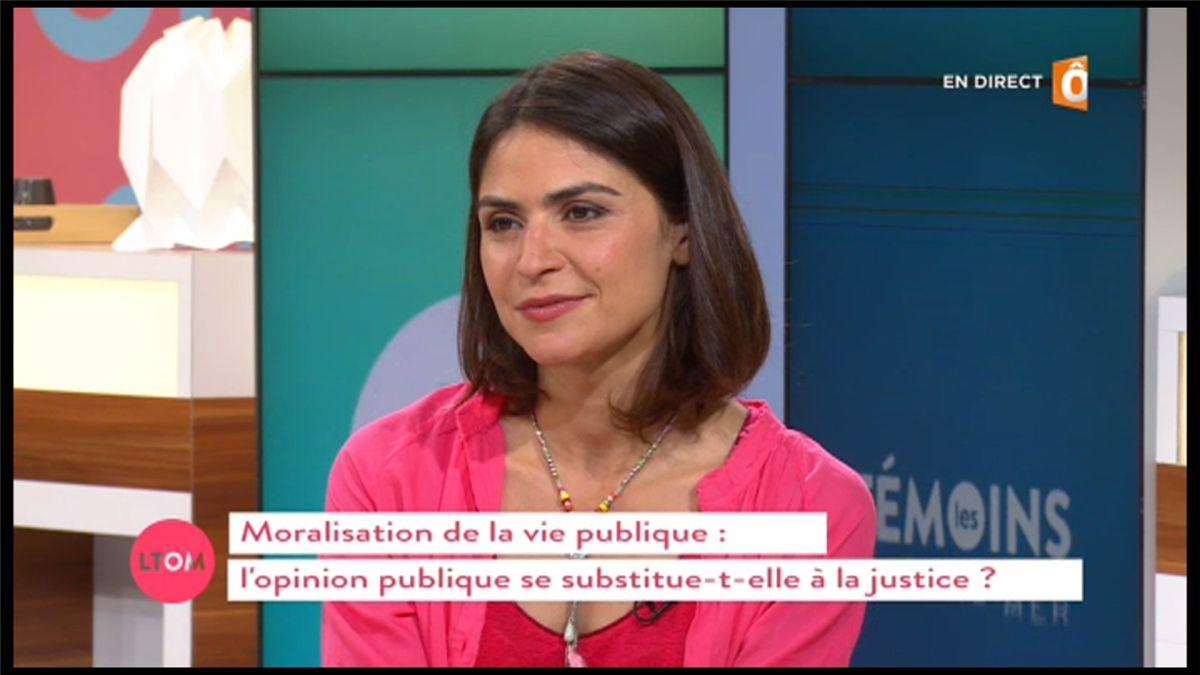 Sonia Chironi Les Témoins d'Outremer France Ô le 26.06.2017