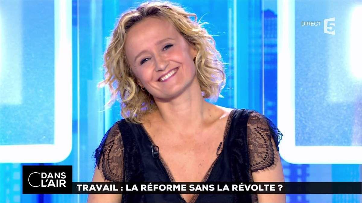 Caroline Roux C Dans l'Air France 5 le 26.06.2017
