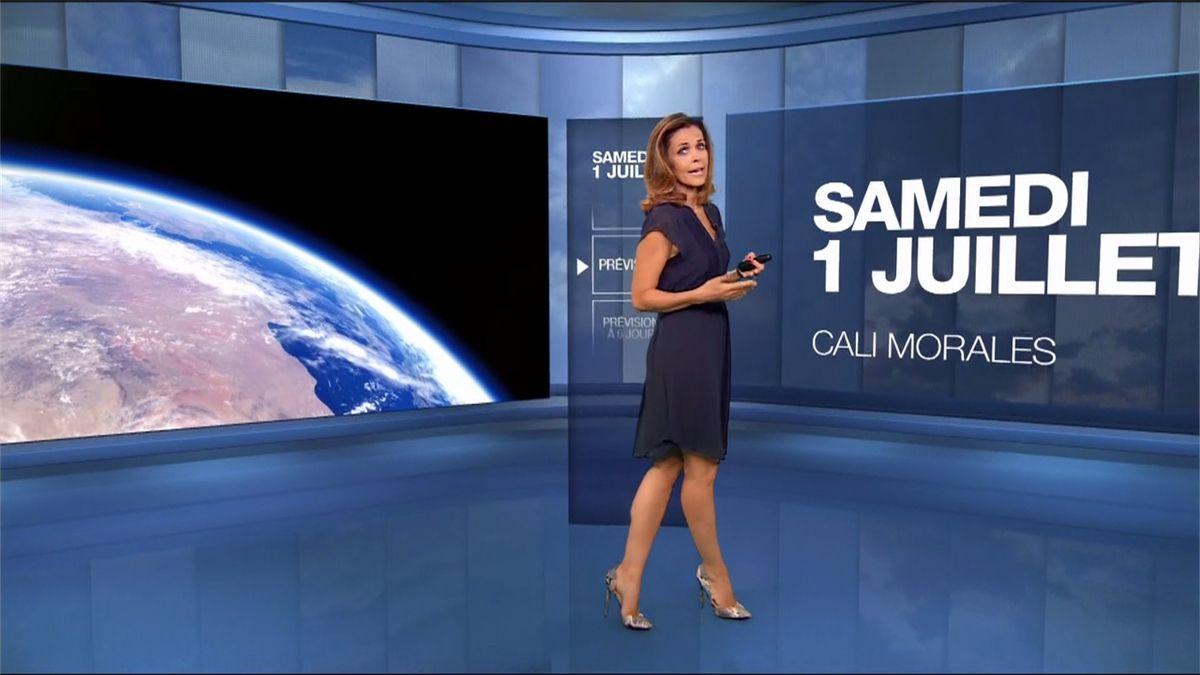 Cali Morales Météo M6 le 01.07.2017