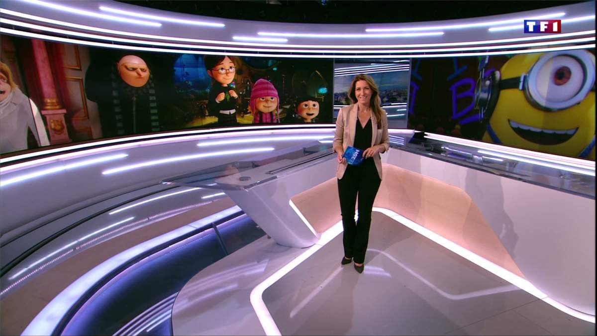 Anne-Claire Coudray JT 20H TF1 le 02.07.2017