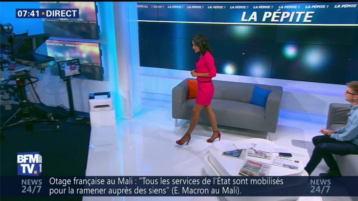 Aurélie Casse Première Edition BFM TV le 03.07.2017