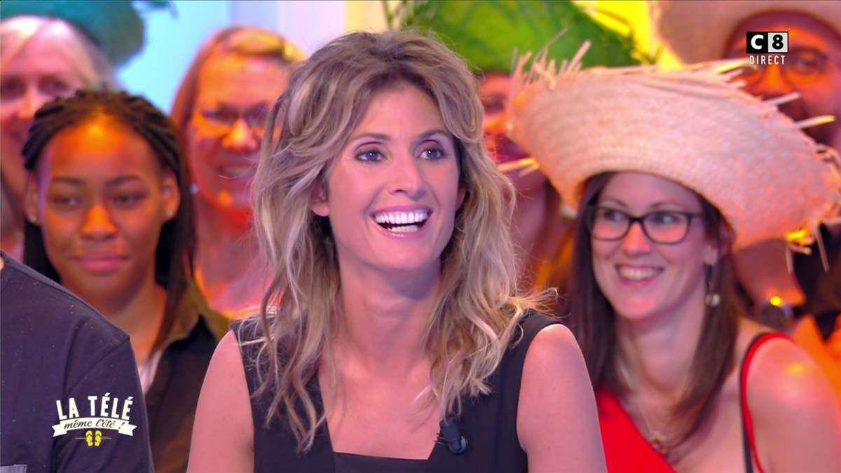 Caroline Ithurbide La Télé Même l'Eté C8 le 03.07.2017