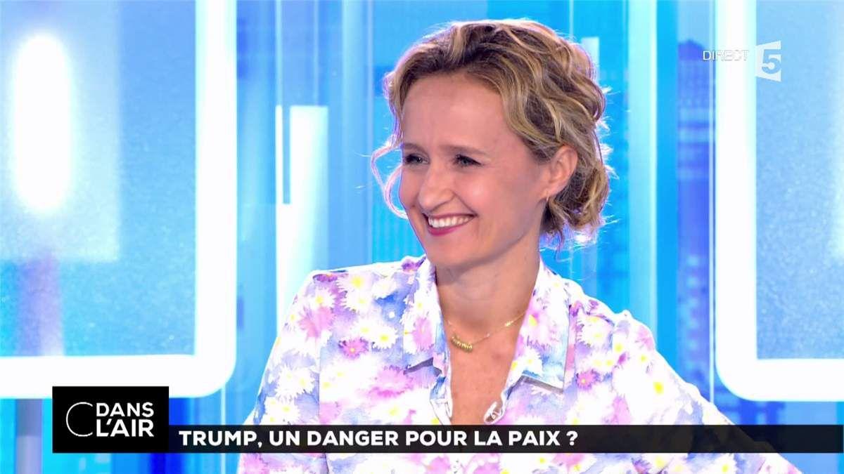 Caroline Roux C Dans l'Air France 5 le 06.07.2017