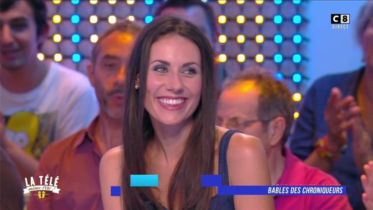 Jessie Claire La Télé Même l'Eté C8 le 06.07.2017