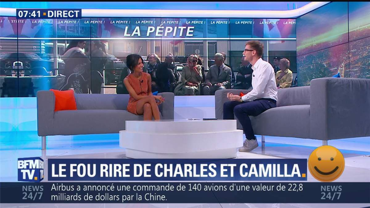 Aurélie Casse Première Edition BFM TV le 06.07.2017