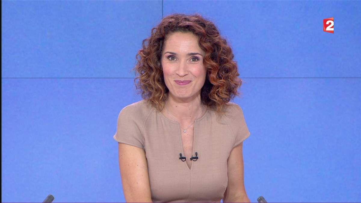 Marie-Sophie Lacarrau JT 13H France 2 le 07.07.2017