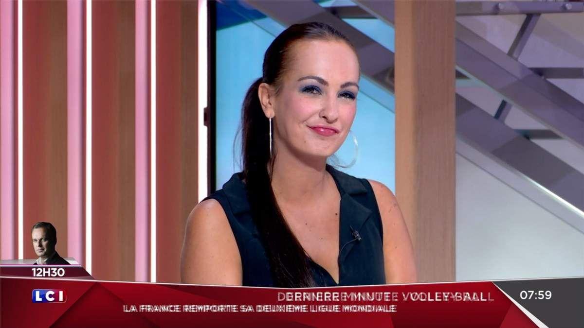Alexandra Blanc Météo LCI le 09.07.2017