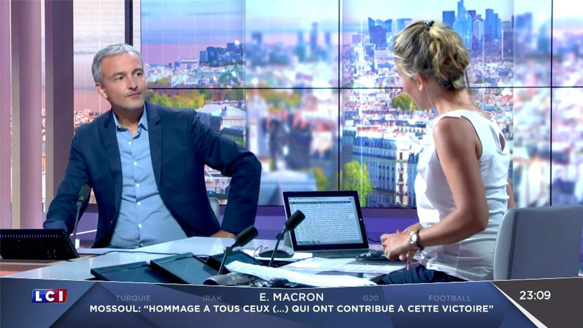 Hortense Villatte LCI Soir LCI le 09.07.2017