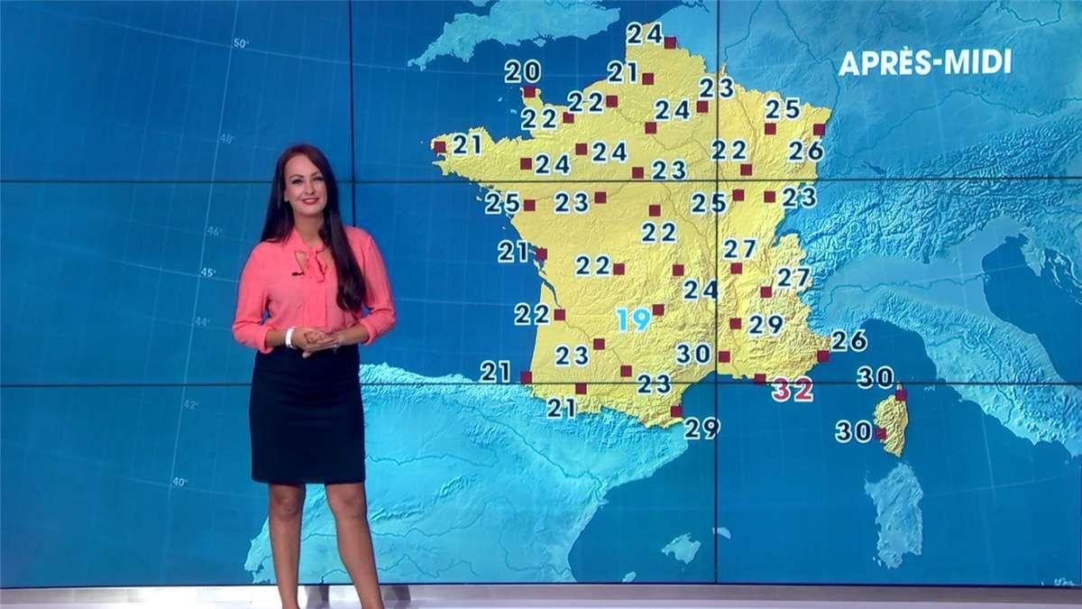 Alexandra Blanc Météo LCI le 10.07.2017