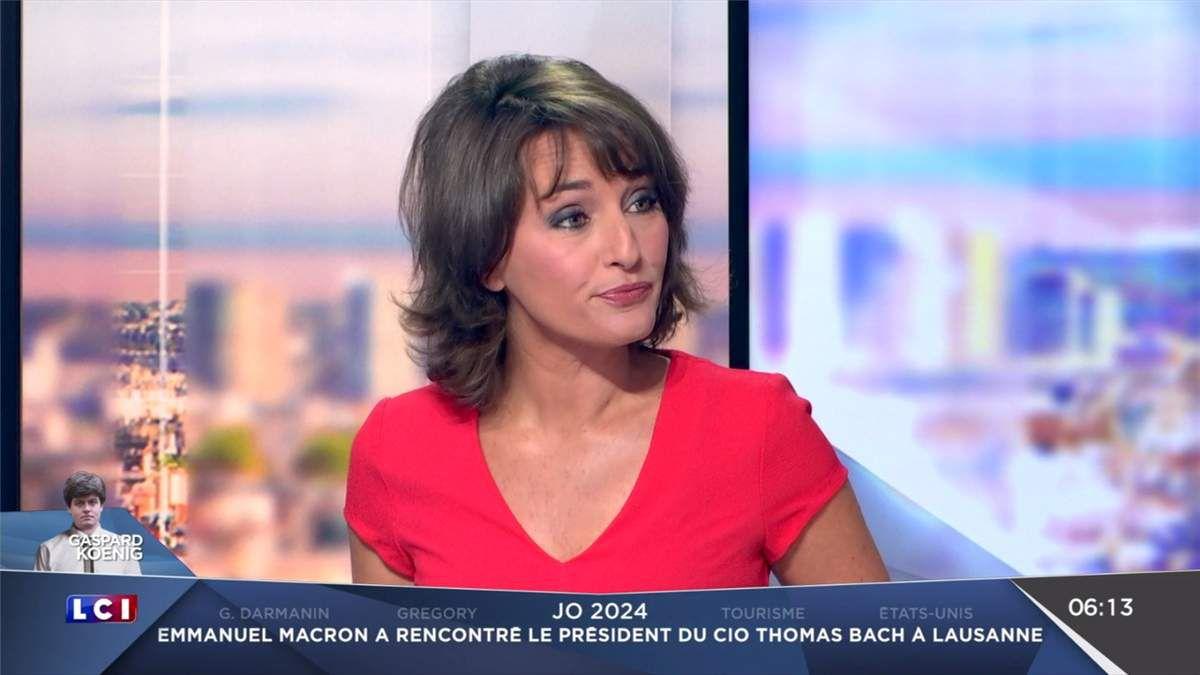 Amandine Bégot LCI Matin LCI le 11.07.2017
