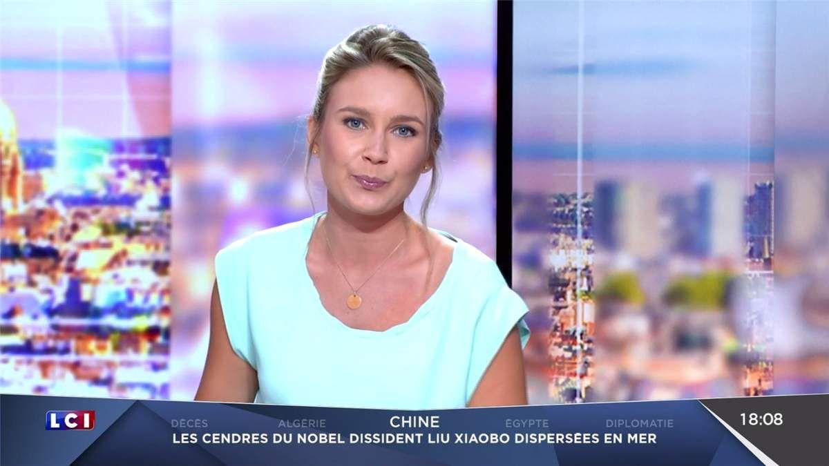 Hortense Villatte LCI Soir LCI le 15.07.2017