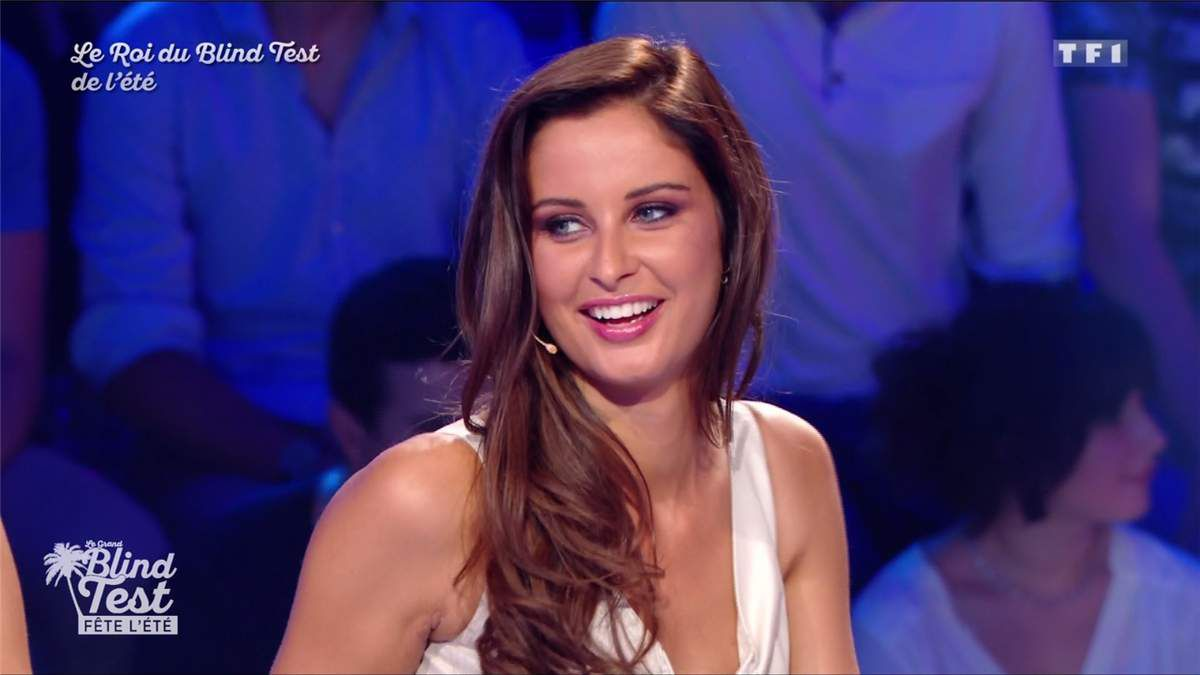 Malika Ménard Le Grand Blind Test TF1 le 15.07.2017