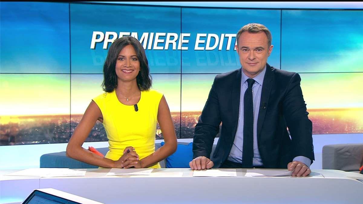 Aurélie Casse Première Edition BFM TV le 17.07.2017