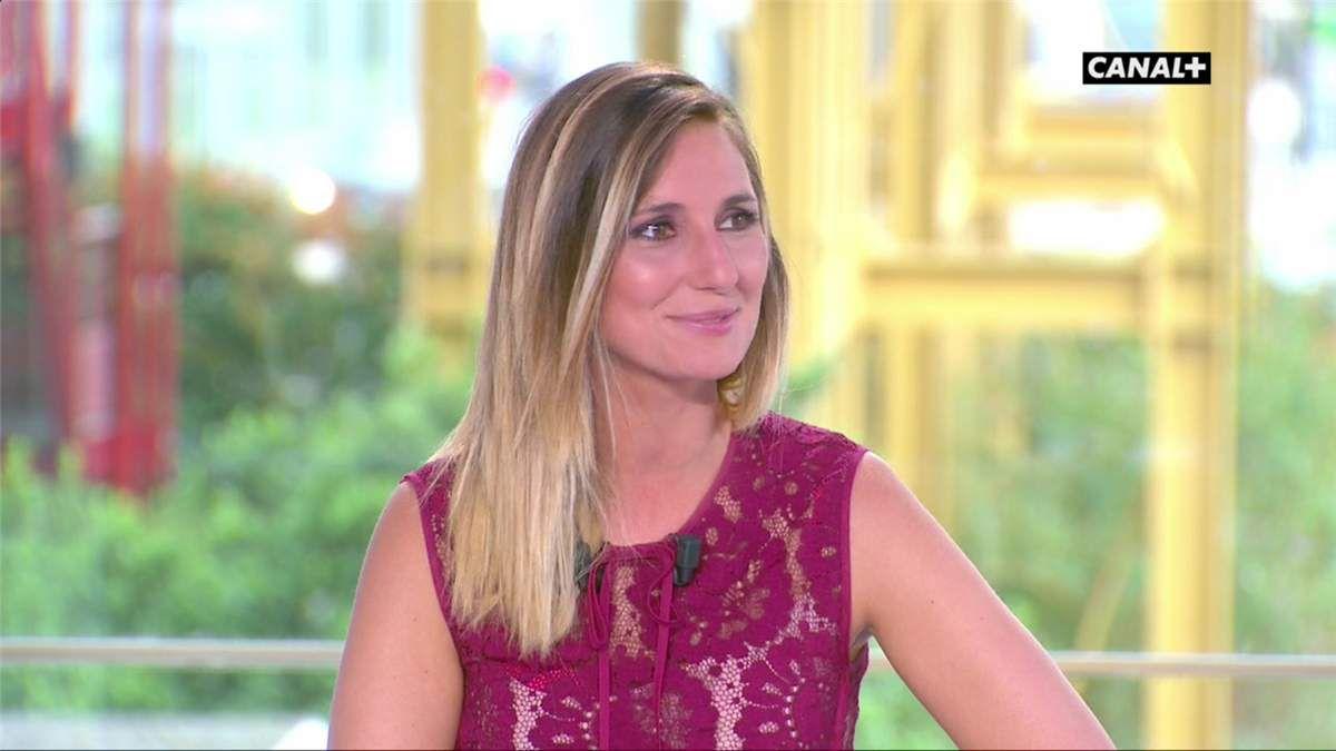 Marie Portolano Samedi Sport Canal+ le 12.08.2017