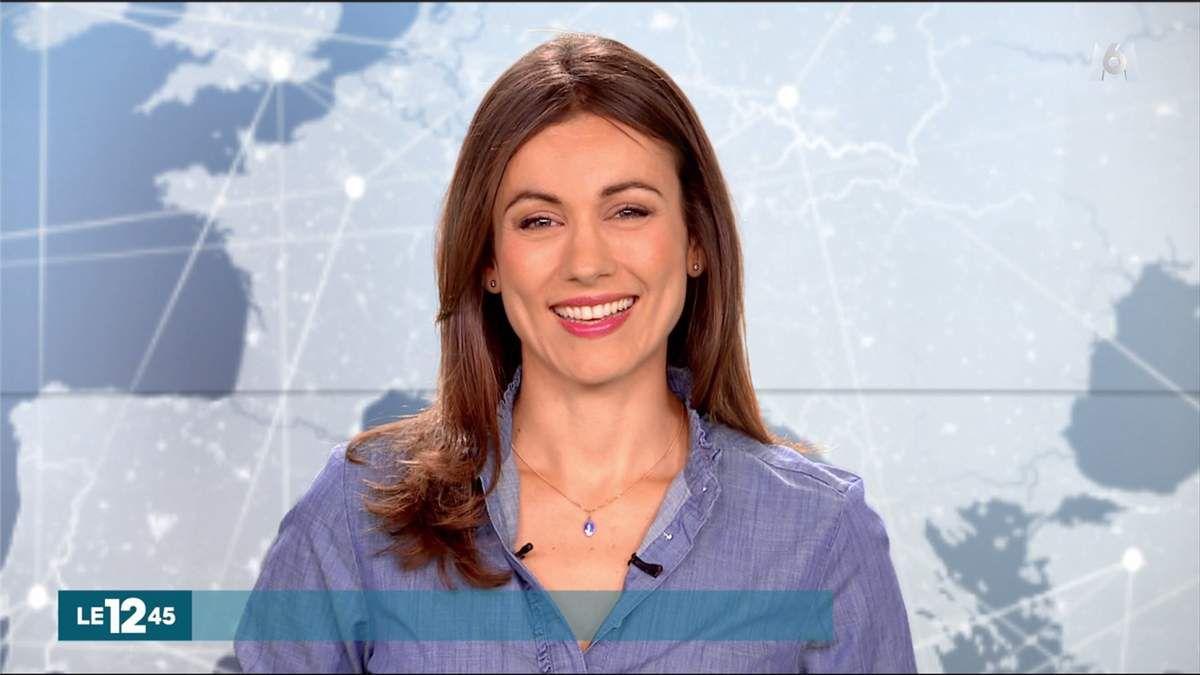 Marie-Ange Casalta Le 12:45 M6 le 12.08.2017