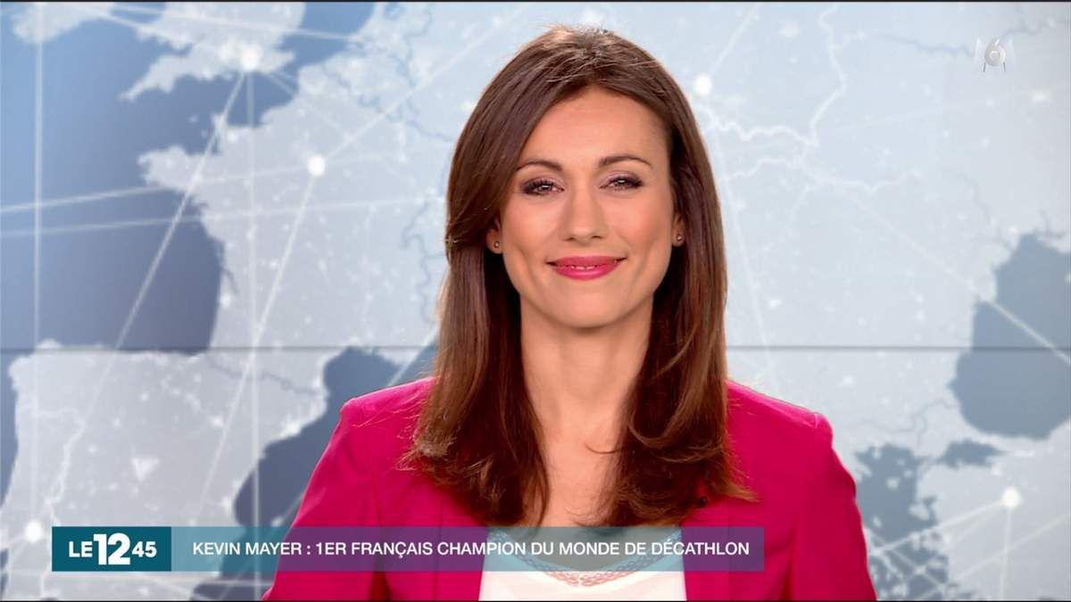 Marie-Ange Casalta Le 12:45 M6 le 13.08.2017