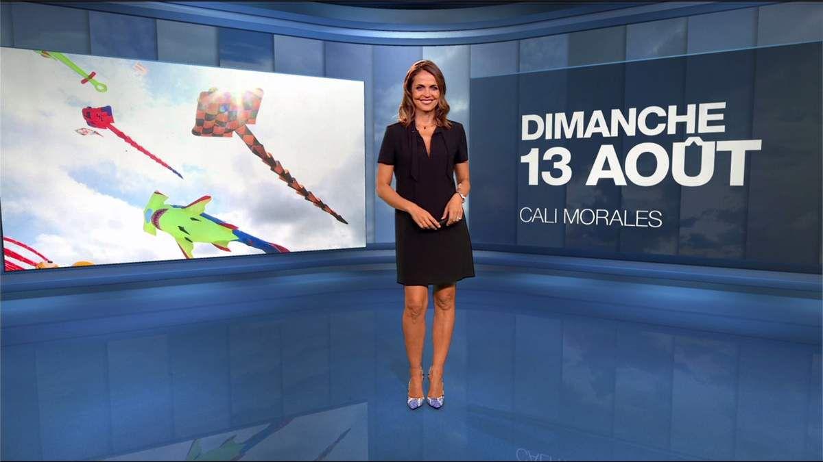 Cali Morales Météo M6 le 13.08.2017