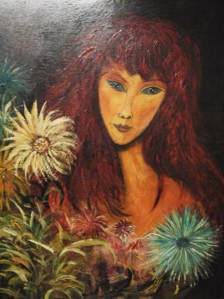 peinture gouache  50 cm x 33cm