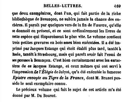 Description raisonnée d'une jolie collection de livres par Nodier, 1780-1844