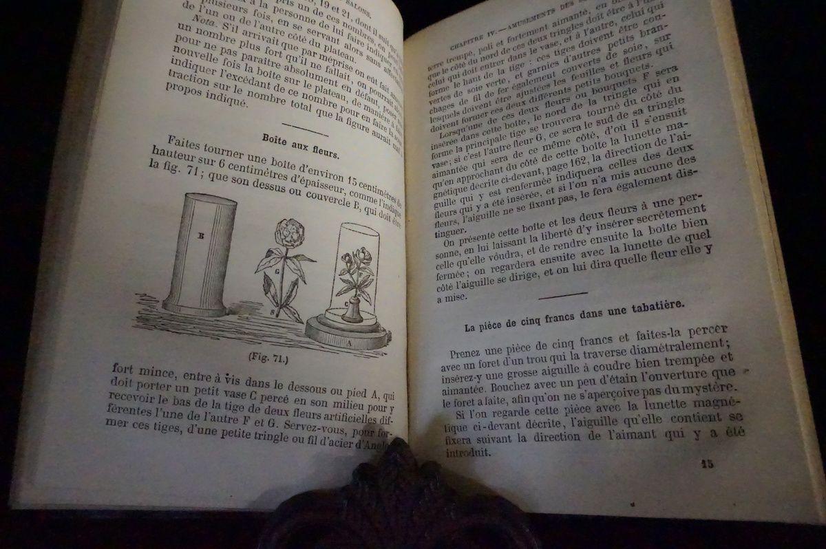 1854.Le magicien des salons où le diable couleur de rose.