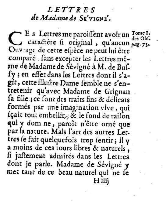 L'esprit de l'abbé Desfontaines ,1752, T.3.