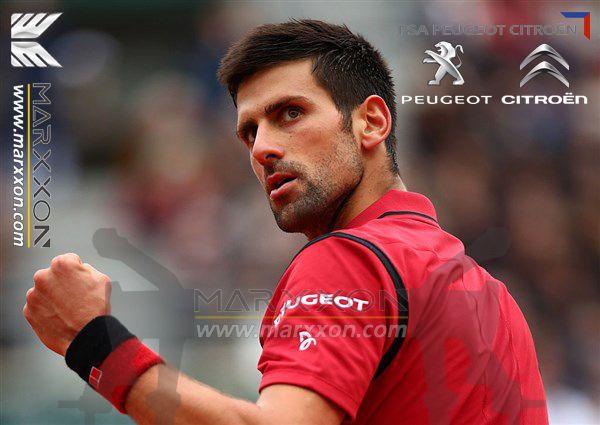 Marxxon congratulations to Peugeot brand ambassador Novak Djokovic won the French Tennis Open Roland
